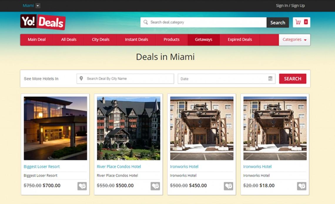 Deals - Stunning City Deals System